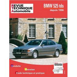 REVUE TECHNIQUE BMW SERIE 5 (E39) - RTA 594 Librairie Automobile SPE 9782726859414
