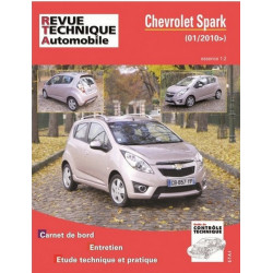 REVUE TECHNIQUE CHEVROLET SPARK ESSENCE - RTA HS008