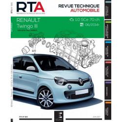 REVUE TECHNIQUE RENAULT TWINGO III - RTA 816 Librairie Automobile SPE 9791028306113