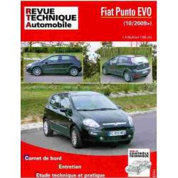 REVUE TECHNIQUE FIAT PUNTO EVO - RTA HS007 Librairie Automobile SPE 9782726800713