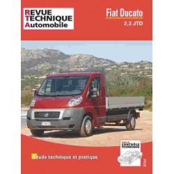 REVUE TECHNIQUE FIAT DUCATO 2.3 JTD - RTA HS019 Librairie Automobile SPE 9782726828052