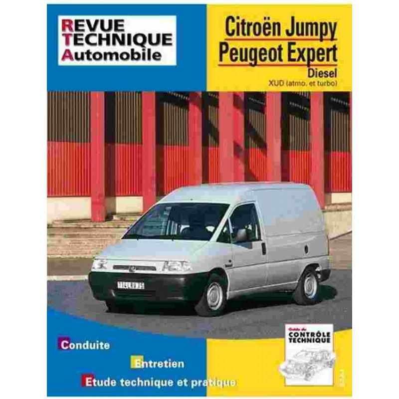 REVUE TECHNIQUE FIAT SCUDO DIESEL - RTA 590 Librairie Automobile SPE 9782726859018