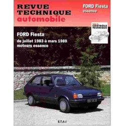 REVUE TECHNIQUE FORD FIESTA ESSENCE - RTA 449 Librairie Automobile SPE 9782726844939