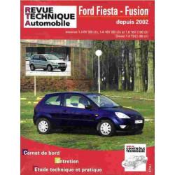 REVUE TECHNIQUE FORD FIESTA DEPUIS 2002 - RTA TAP 416 Librairie Automobile SPE 3176420904031