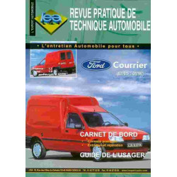 REVUE TECHNIQUE FORD COURRIER - RTA TAP 330 Librairie Automobile SPE 3176420905953