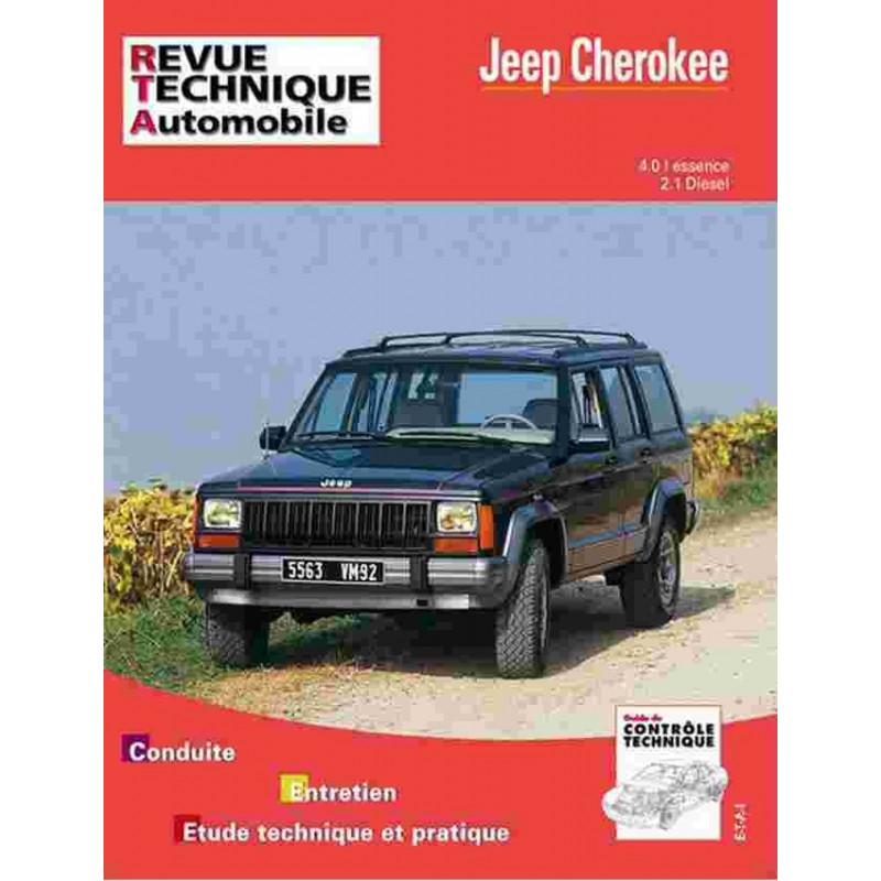 REVUE TECHNIQUE JEEP CHEROKEE 1984-1991 - RTA 529 Librairie Automobile SPE 9782726852927