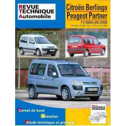 REVUE TECHNIQUE CITROEN BERLINGO DIESEL - RTA 111 Librairie Automobile SPE 9782726811115