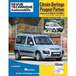 REVUE TECHNIQUE CITROEN BERLINGO DEPUIS 2002 - RTA TAP415 Librairie Automobile SPE 3176420103038