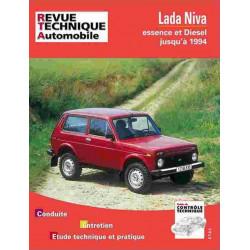 REVUE TECHNIQUE LADA NIVA 4X4 - RTA 435 Librairie Automobile SPE 9782726843536