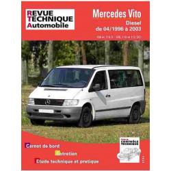 REVUE TECHNIQUE MERCEDES VITO DIESEL 1996-2003 - RTA TAP421 Librairie Automobile SPE 3176420510034