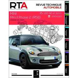 REVUE TECHNIQUE MINI 2 PHASE 2 1.6 DIESEL- RTA 819 Librairie Automobile SPE 9791028306144