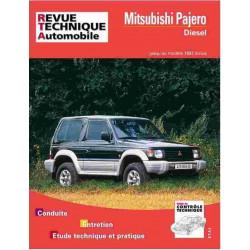 REVUE TECHNIQUE MITSUBISHI PAJERO DIESEL - RTA 517 Librairie Automobile SPE 9782726851722