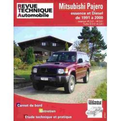 REVUE TECHNIQUE MITSUBISHI PAJERO - RTA TAP387 Librairie Automobile SPE 3176420607000