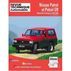 REVUE TECHNIQUE NISSAN PATROL DIESEL - RTA 541 Librairie Automobile SPE 9782726854129