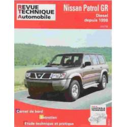 REVUE TECHNIQUE NISSAN PATROL GR APRES 1998 - RTA TAP376 Librairie Automobile SPE 3176420507997