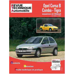 REVUE TECHNIQUE OPEL CORSA B - RTA 563 Librairie Automobile SPE 9782726856314