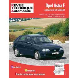 REVUE TECHNIQUE OPEL ASTRA F - RTA 547 Librairie Automobile SPE 9782726854723