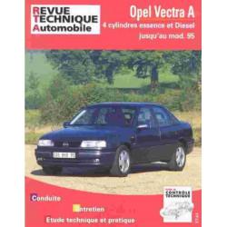 REVUE TECHNIQUE OPEL VECTRA A - RTA 515 Librairie Automobile SPE 9782726851531