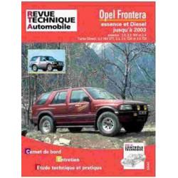 REVUE TECHNIQUE OPEL FRONTERA 1992-2003 - RTA TAP369 Librairie Automobile SPE 3176420812985