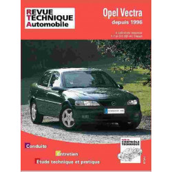 REVUE TECHNIQUE OPEL VECTRA B - RTA 728 Librairie Automobile SPE 9782726872819