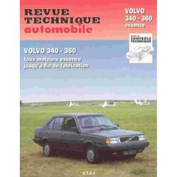 REVUE TECHNIQUE VOLVO 340 360 - RTA 416 Librairie Automobile SPE 9782726841655