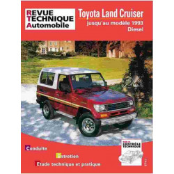 REVUE TECHNIQUE TOYOA LAND CRUISER LJ - RTA 493 Librairie Automobile SPE 9782726849330