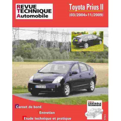 REVUE TECHNIQUE TOYOTA PRIUS II - RTA HS010 Librairie Automobile SPE 9782726801017