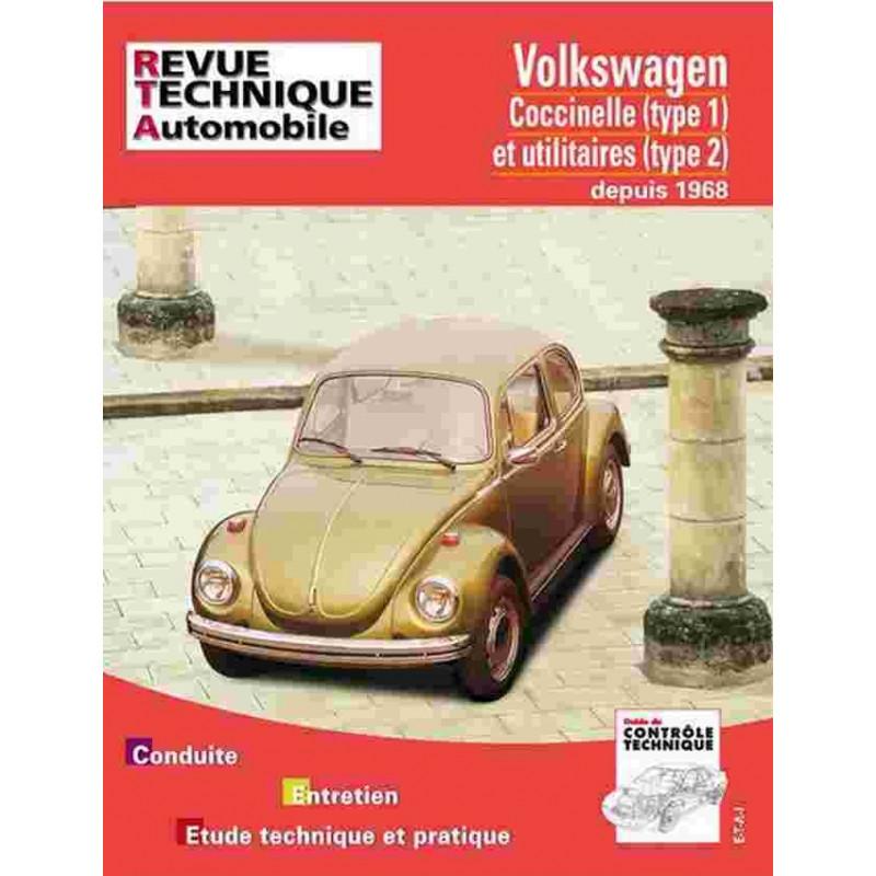 REVUE TECHNIQUE VOLKSWAGEN COCCINELLE - RTA 317 Librairie Automobile SPE 9782726831748