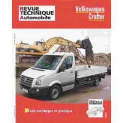 REVUE TECHNIQUE VOLKSWAGEN CRAFTER - RTA HS018 Librairie Automobile SPE 9782726827857