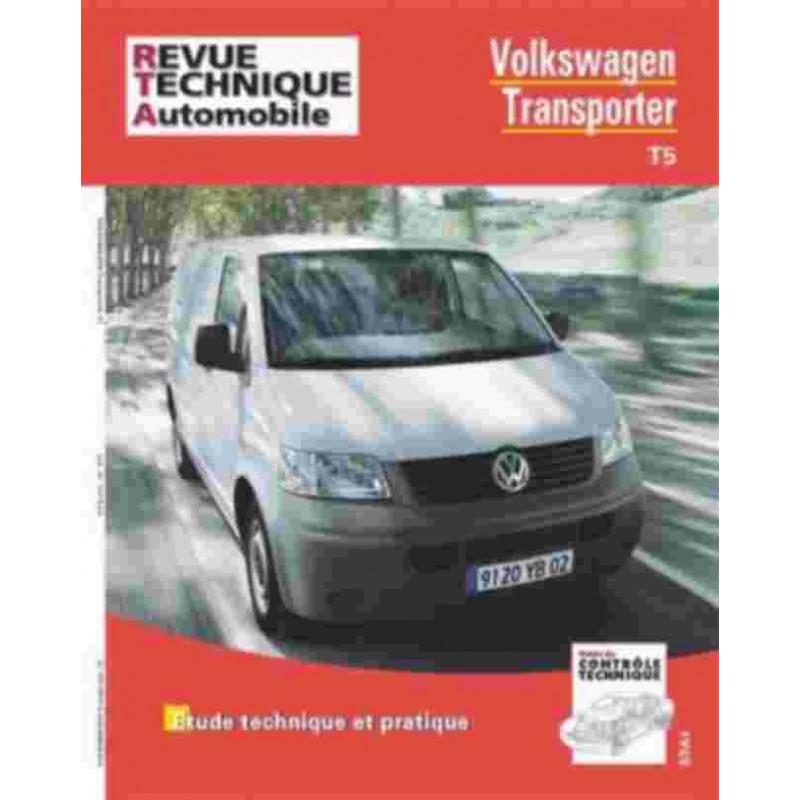 REVUE TECHNIQUE VOLKSWAGEN TRANSPORTEUR T5 - RTA HS017 Librairie Automobile SPE 9782726827451