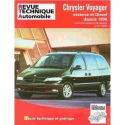 REVUE TECHNIQUE CHRYSLER VOYAGER - RTA TAP380 Librairie Automobile SPE 3176420512991
