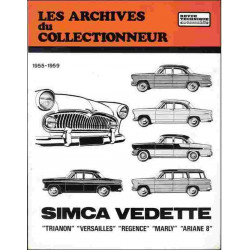 REVUE TECHNIQUE SIMCA VEDETTE (1955-1959) ARC13