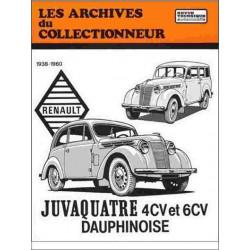 9782726899182 RENAULT JUVAQUATRE ET DAUPHINOISE 1938-1960 - ARC26 / ETAI