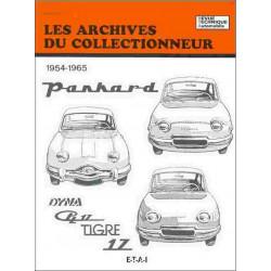 Panhard Dyna - PL17 - Tigre - 17 1954-1965 ARC18 / ETAI Librairie Automobile SPE 9782726899113