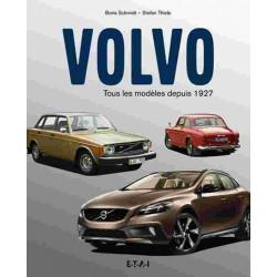 VOLVO, TOUS LES MODÈLES DEPUIS 1927 - ETAI Librairie Automobile SPE 9791028300197