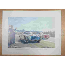 24 Heures du Mans 1952 Reproduction Daniel PICOT Librairie Automobile SPE picot52