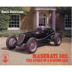 MASERATI 3011 – THE STORY OF A RACING CAR Librairie Automobile SPE 9780951178508