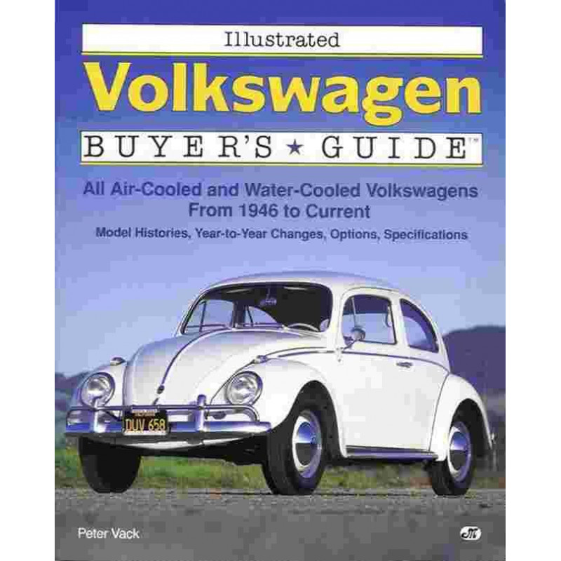 VOLKSWAGEN ILLUSTRATED BUYER'S GUIDE Librairie Automobile SPE 9780879387242
