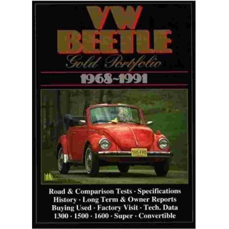VW BEETLE GOLD PORTFOLIO 1968-1991 Librairie Automobile SPE 9781855201934