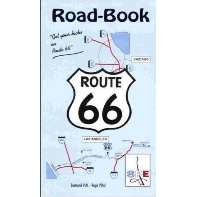 ROAD BOOK ROUTE 66 Edition SPE Barthelemy Librairie Automobile SPE 9782912838025