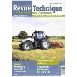 REVUE TECHNIQUE LAMBORGHINI R6 130 À 185 Librairie Automobile SPE RTMA188