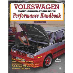 VOLKSWAGEN, WATER-COOLED, FRONT-DRIVE PERFORMANCE HANDBOOK Librairie Automobile SPE 9780879382681