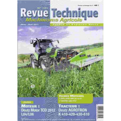 REVUE TECHNIQUE DEUTZ...