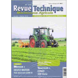 REVUE TECHNIQUE FENDT 300...