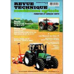REVUE TECHNIQUE DEUTZ FAHR AGROPRIMA / AGROXTRA 6 Librairie Automobile SPE RTMA114