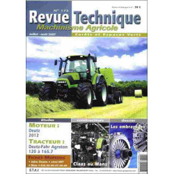 REVUE TECHNIQUE DEUTZ FAHR...