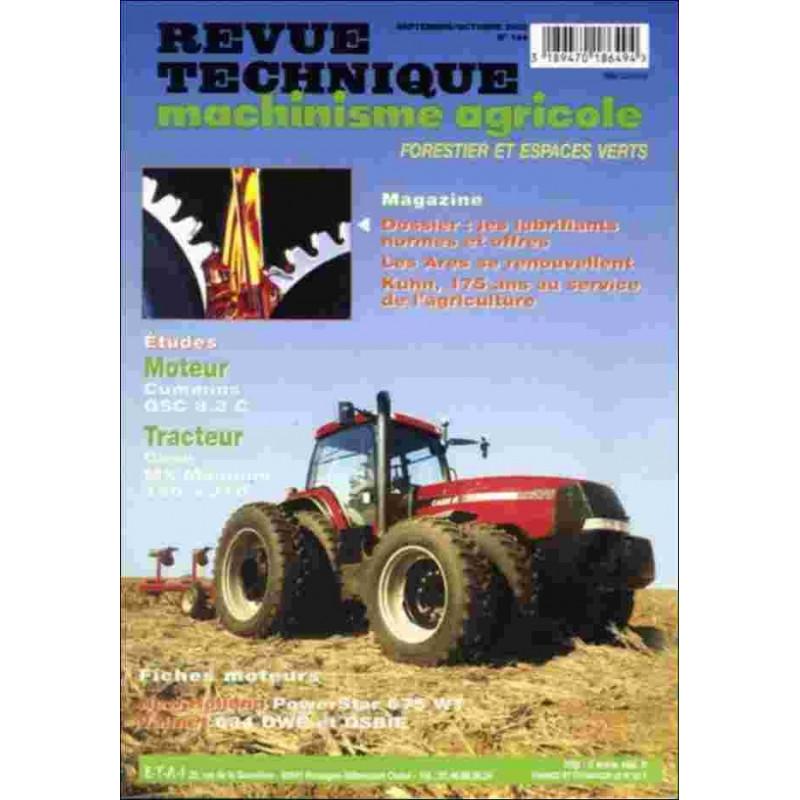 REVUE TECHNIQUE CASE MX MAGNUM 180 À 270 Librairie Automobile SPE RTMA144