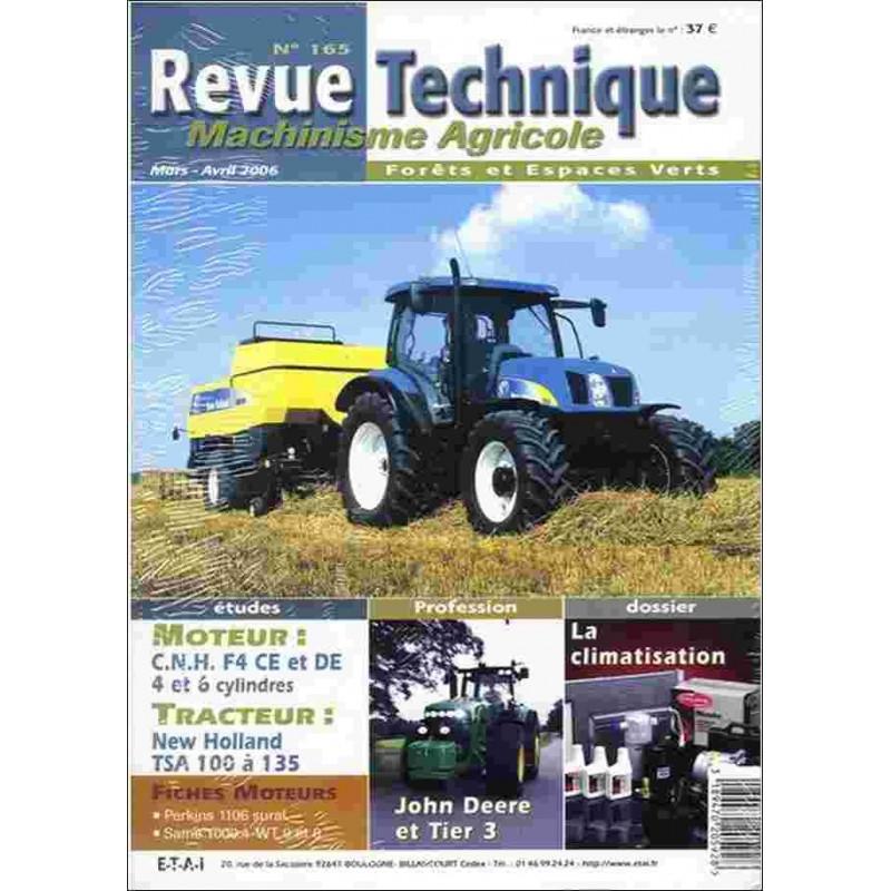 REVUE TECHNIQUE CLAAS ARES 546 À 696 Librairie Automobile SPE RTMA167