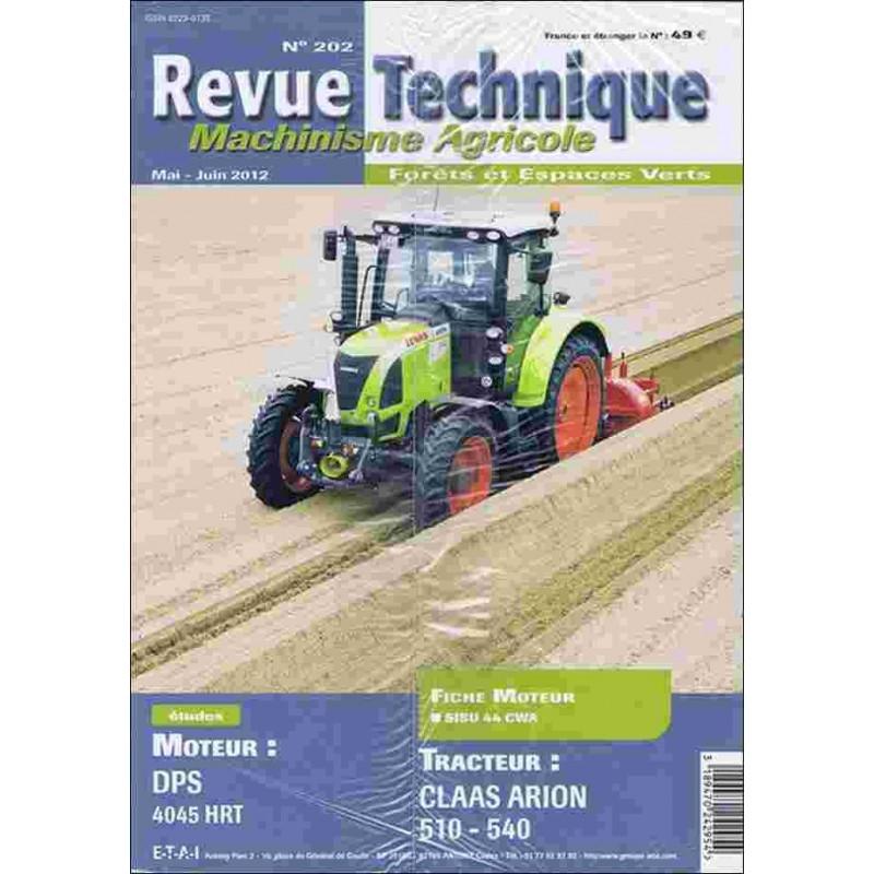 REVUE TECHNIQUE CLASS ARION 510 / 540 Librairie Automobile SPE RTMA202