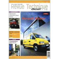 REVUE TECHNIQUE RENAULT MASTER Librairie Automobile SPE RTD251